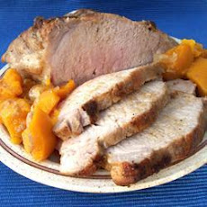 Roast Pork With Butternut Squash
