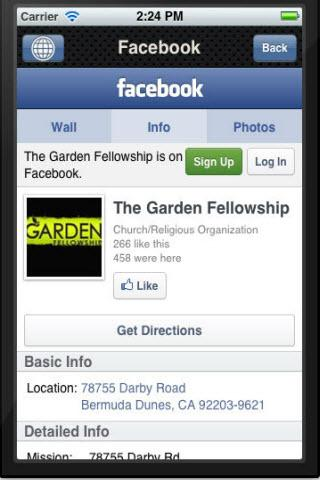 The Garden Fellowship