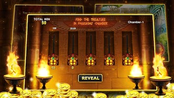 Screenshot of Slots™ - Pharaoh's Journey