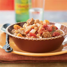 Pork Stew with Chickpeas and Sweet Potatoes