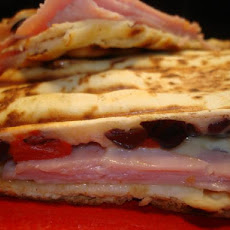 Ham and Gouda Panini