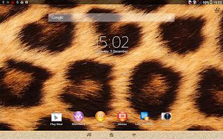 Screenshot of Xperia™ African Leopard Theme
