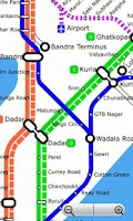 Screenshot of Mumbai Local Navigator