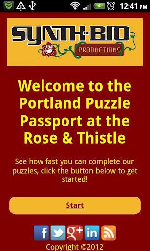 Portland Puzzle Passport