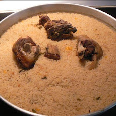 Economical Baked Lamb With Rice