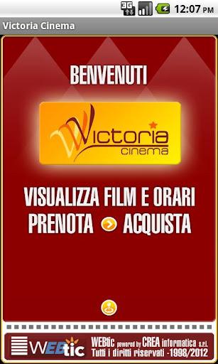 Webtic Victoria Cinema