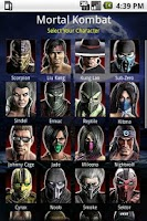 Screenshot of Mortal Kombat Moves