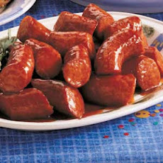 1-2-3 Barbecue Sausage Recipe