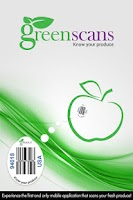 Screenshot of greenscans | Produce Scanner