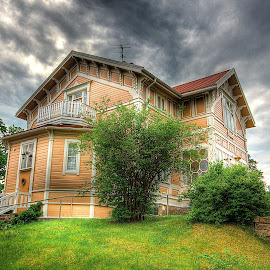 Villa Margita by Kaj Andersson - Buildings & Architecture Homes ( clouds, home, sky, villa, finland, hanko )