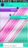 Screenshot of GO SMS THEMES/PastelStars