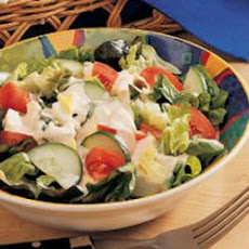 Salad with Creamy Dressing