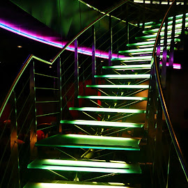 The Vault Stairs by Deborah Russenberger - Buildings & Architecture Other Interior ( stairs,  )
