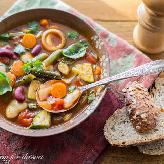 Chunky Vegetable Soup with Smoked Paprika