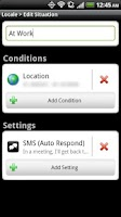 Screenshot of Locale SMS Auto Respond Plugin