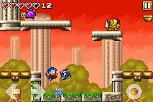 Screenshot of Bloo Kid