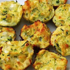 Zucchini Bites [Curious Country Cook]