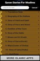Screenshot of Quran Stories (Islam)