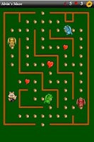 Screenshot of Alvin's Maze