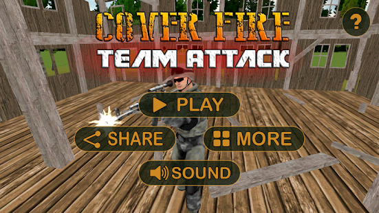 Coverfire Team Attack - screenshot