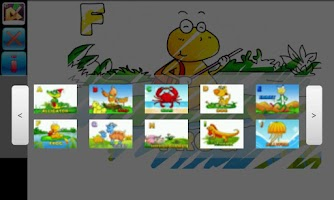 Screenshot of Paint the Alphabet for Kids