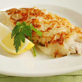 Potato-Crusted Red Snapper