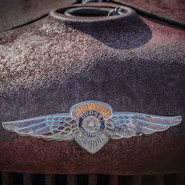 Dodge Truck Emblem by Ron Meyers - Artistic Objects Other Objects