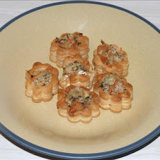 Cheese and Oyster Vol-Au-Vents