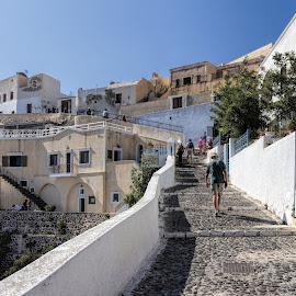 uphill by Vibeke Friis - Buildings & Architecture Homes ( uphill, buildings, path )