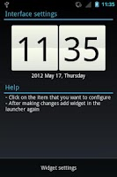 Screenshot of acWidgets: Your Clock