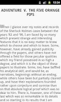 Screenshot of Adventures of Sherlock Holmes