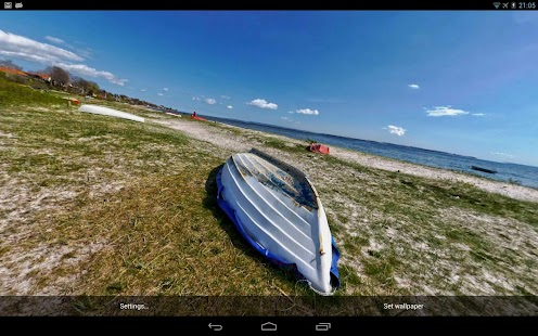 Photosphere HD Live Wallpaper Screenshot