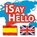iSayHello Spanish - English icon