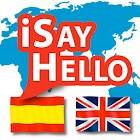 iSayHello Spanish - English icon