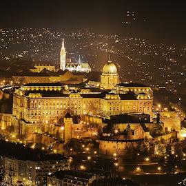 Budapest - Buda Castle: like a fairy tale by Ilyés Zoltán - City,  Street & Park  Historic Districts ( hungary, budapest, budai vár, buda castle, magyarország )