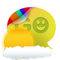 GOSMSTHEME Summer Clouds Theme icon
