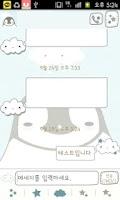 Screenshot of Pepe-cloud(babyblue) Go sms