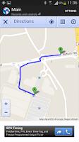 Screenshot of Track Location & Car