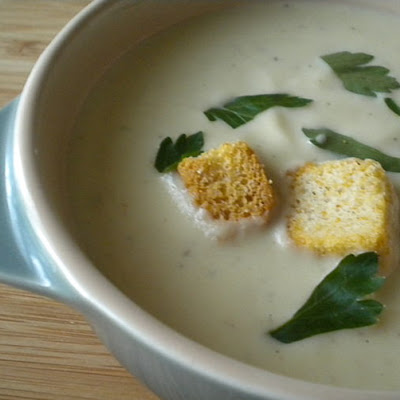 Creamy Roasted Cauliflower Soup