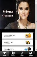 Screenshot of Selena Gomez Pictures & Songs