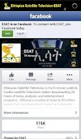 Screenshot of ESAT TV