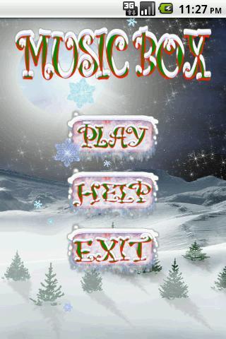 クリスマスオルゴールプロ