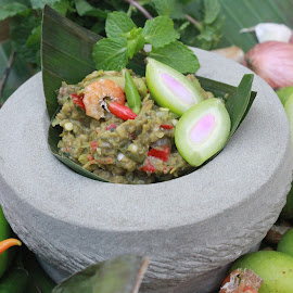 Fresh Chili Paste by Syi Foodsgarden - Food & Drink Fruits & Vegetables ( fish, shrimp, food, chili, asian )