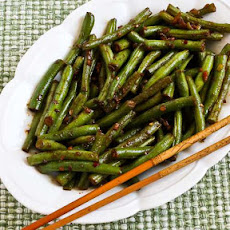 Recipe for Spicy Sichuan Style Green Beans