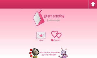 Screenshot of LoveCardz-Express your love