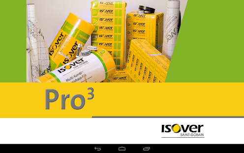 ISOVER Pro3 - screenshot