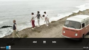 Screenshot of One Direction Top Videos