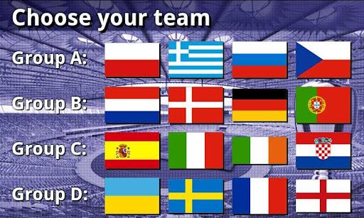 EURO 2012 Football Soccer Game