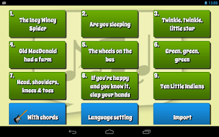 Screenshot of Kids Karaoke