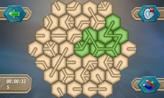 Screenshot of Hexagon